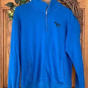 Pink VS 1/4 zip sweatshirt